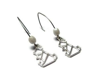 Rabbit rabbit earring earrings