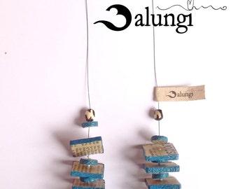 Bark Cloth necklace