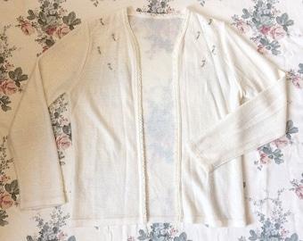 Nutshell Vintage Dainty Floral Cardigan