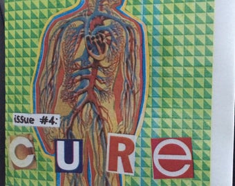 "All in Your Head: Queerness, Neurodiversity, and Disability Zine Issue #4 ""Cure."""
