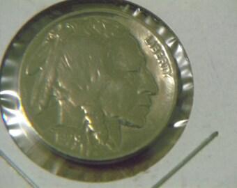 Uncirculated 1929 P Buffalo Nickel