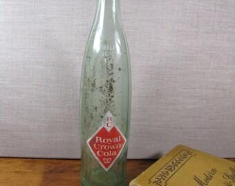 Half Quart Royal Crown Cola Bottle