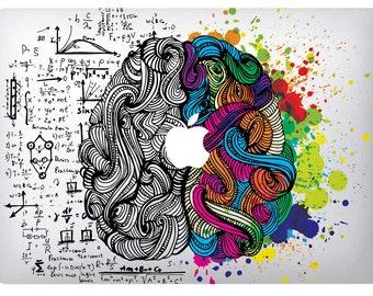 "Skin for MacBook 13 ""Brain"