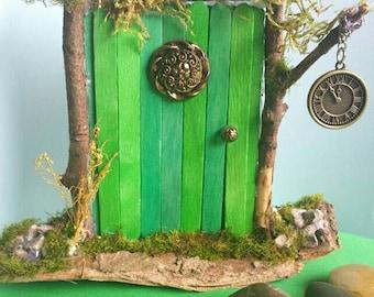 Rustic handmade Fairy Pixie door