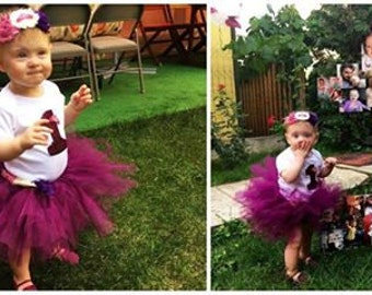 First Birthday Tutu Outfit for Princesses