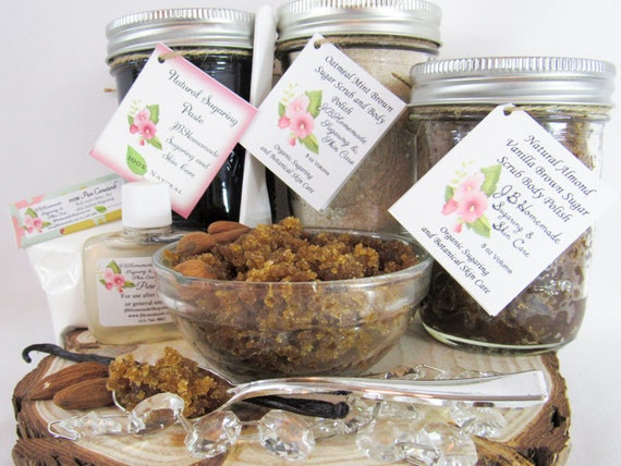 Sugaring Paste & Brown Sugar Almond Vanilla Scrub Deluxe Bundle