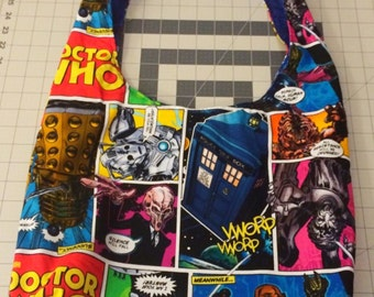 Doctor Who inspired Hobo Bag