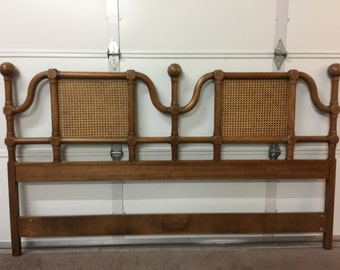 Vintage Solid Wood Unique King Size Headboard