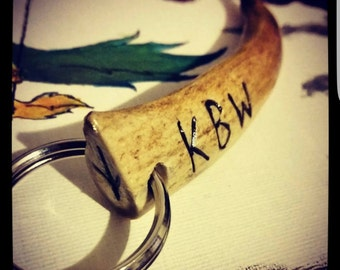 Deer Antler Keyrings