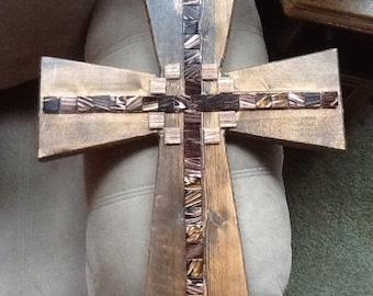 Large mosaic cross