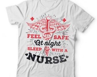 Nurse Funny T-Shirt Gift For Nurse NCLEX RN Tee Shirt
