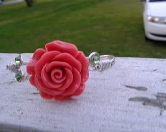 Rose Sterling Silver bracelet