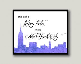 New York City Printable Art, Instant Download
