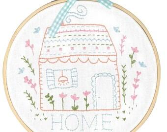 DMC Embroidery Kit - Home Sweet Home designed by Tamar Nahir-Yanai