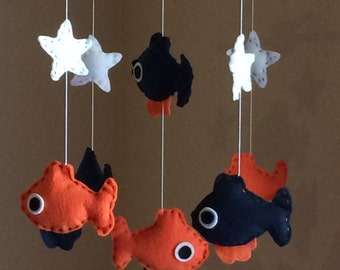 Fish Mobile, Baby mobile fish, Fish Mobile baby
