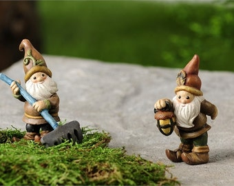 Woodland Gnomes Series A Set of 2