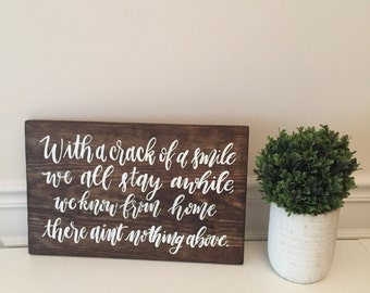 Custom Wood Sign, Wood Sign, Rustic Wood Sign, Quote Sign, Bible Verse Sign, Rustic Home Decor, Home Decor
