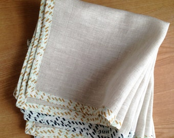 Handmade Linen Napkins Set