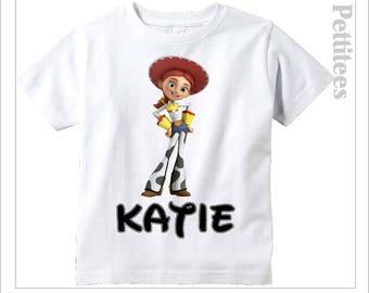 Jessie Toy Story Disney Vacation Shirt Personalized Shirt Custom Tshirt  p368