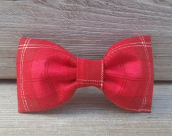 Bowtie, bowties, Because who doesn't like plaid! Cool, Red plaid, bow tie!