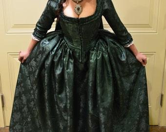 Versaille Dress; Marie Antoinette Dress; 18th Century Gown; Eliza Schuyler