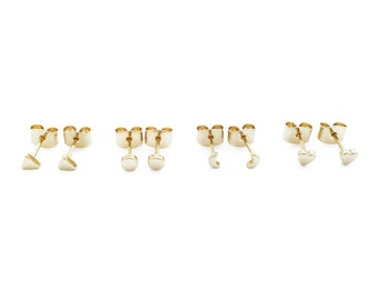 Mini Stud Earrings Quartet