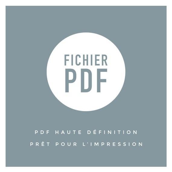 Fichier pdf seul pr t pour l 39 impression logo mariage for Pret pour terrain seul
