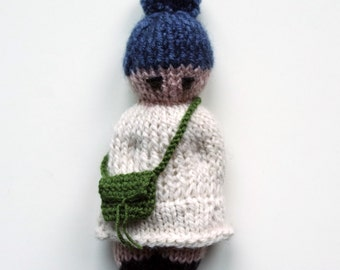 Handbag For A Doll Doll Accessory Knitted Toy Bag Collectable Doll Accessories