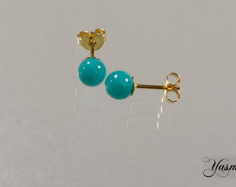 Amazonite gold plated