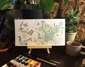 Lake Merritt Map