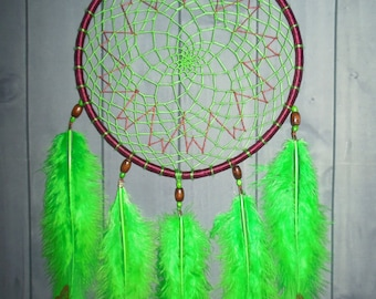 "Dreamcatcher ""Butterfly"" \ Large Dream catcher \ attrape reves \ Traumfanger \ Acchiappasogni \ mobile \ Wall Hangings \ Decor acrylic paint"