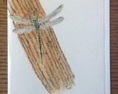 Greeting Card,Dragonfly,W...