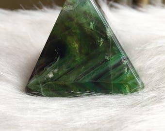 Discounted- see description* Fluorite Pyramid//Green Fluorite Pyramid//Purple Fluorite Pyramid//Crystal Pyramid