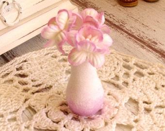 1:6 doll Flowers in Vase Barbie Blythe Monster high Pullip Momoko bjd