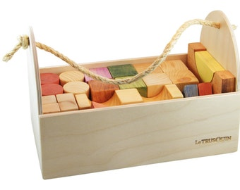Wooden blocks set