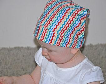 Baby head bandana, baby head scarf, baby hat cotton, head scarf baby, bandana headband, baby girl sun scarf, baby summer hat, scarf, sun hat