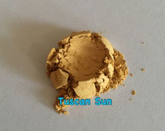 Loose Mineral Eyeshadow or Highlight in Tuscan Sun