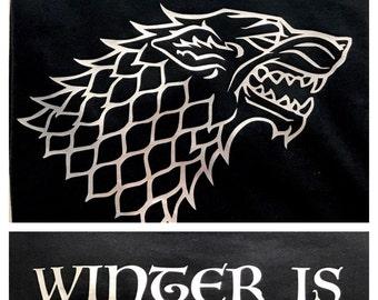 Game of Thrones STARK Tee Direwolf