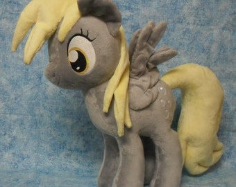 "Derpy 19"" plush my little pony"