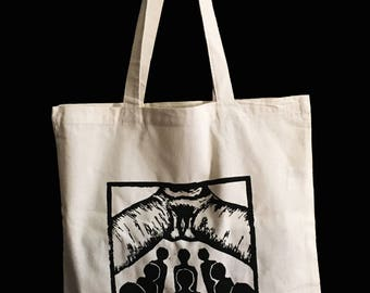 Feminist Canvas Tote Bag - riot grrrl - punk