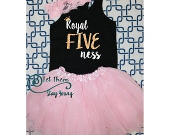 Royal five ness shirt 5 Years Old five and cute fifth Birthday Shirt 5nd Birthday Shirt 5th Birthday Party fifth birthday outfit