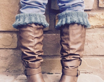 Belle Boot Cuff Toppers Pattern