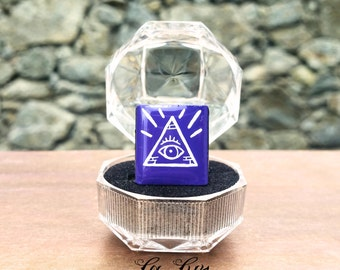 All-seeing eye ring