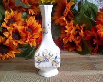 Aynsley Fine English Bone China, 'Just Orchids' Bud Vase.