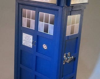 TARDIS inspired Treasure Box
