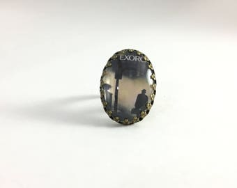 The Exorcist Movie (1973) Ring / Handmade Horror Movie Jewelry / OOAK gift for her / Halloween