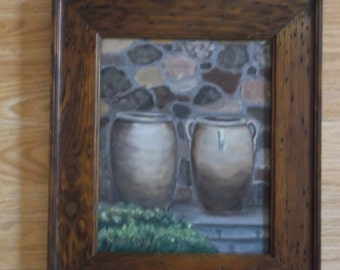 Two Old Urns