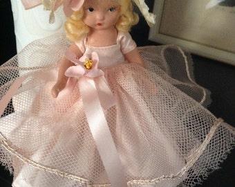 "Nancy Ann Storybook Doll ""Goldilocks"" 1936-1942"