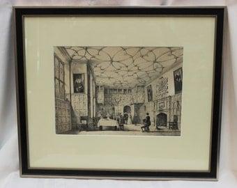 Famous Frank's Tavern; Kent, England. Lithograph. ART10007