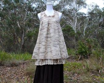SALE Mori girl forest fairy dress // Mori kei // forest fashion